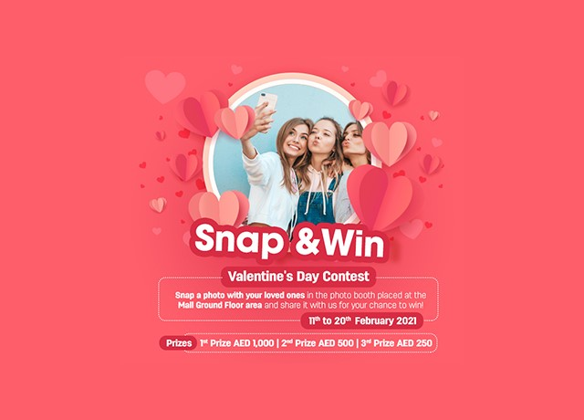 Snap And Win- Valentines Day Contest